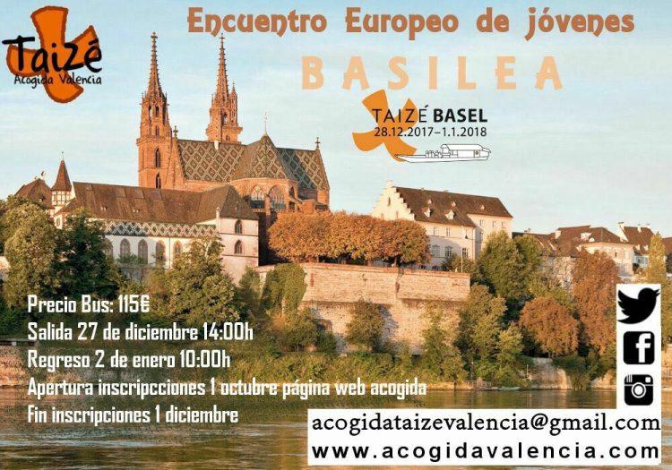 INFORMACIÓN Encuentro Europeo Basilea 2017
